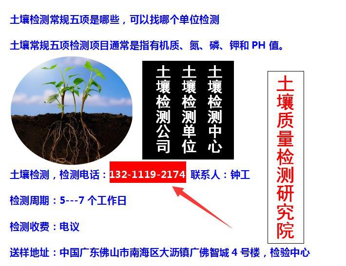 园林绿化种植土检测、土壤检测、花坛土检测、树穴土检测.jpg
