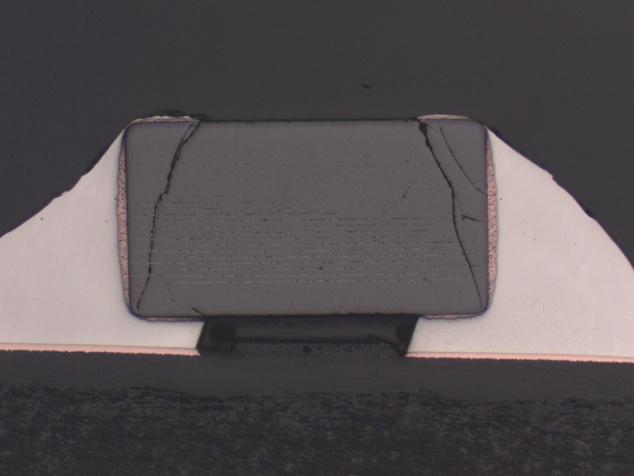 陶瓷电容内部结构裂纹